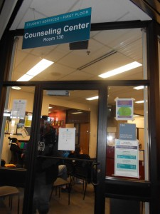 The counseling office at Tri-C.
