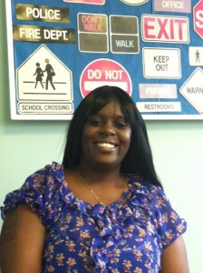 Linda Jones goes to Project Learn twice a week to build her literacy skills.