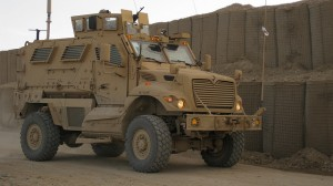This is a  Mine Resistant Ambush Protected Vehicle, but not Ohio State University's  Mine Resistant Ambush Protected Vehicle.